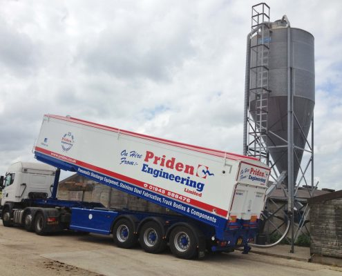 Priden Hire trailer bulk blower